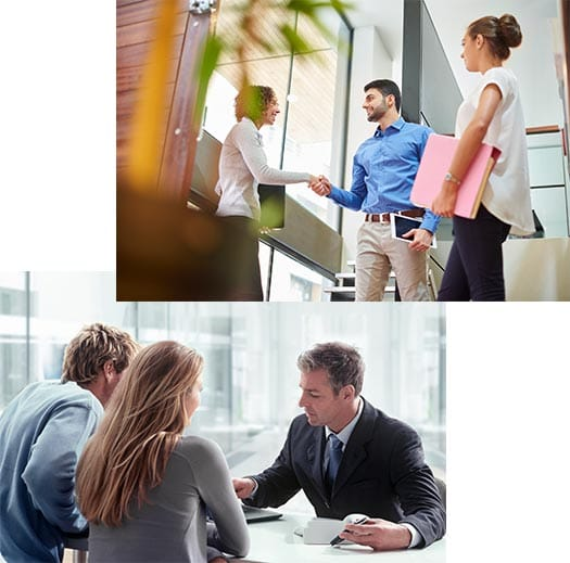 Proffessionals Using Meeting Rooms